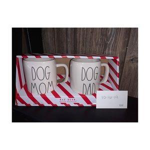 Rae Dunn Dog Mom/Dad Mug Set